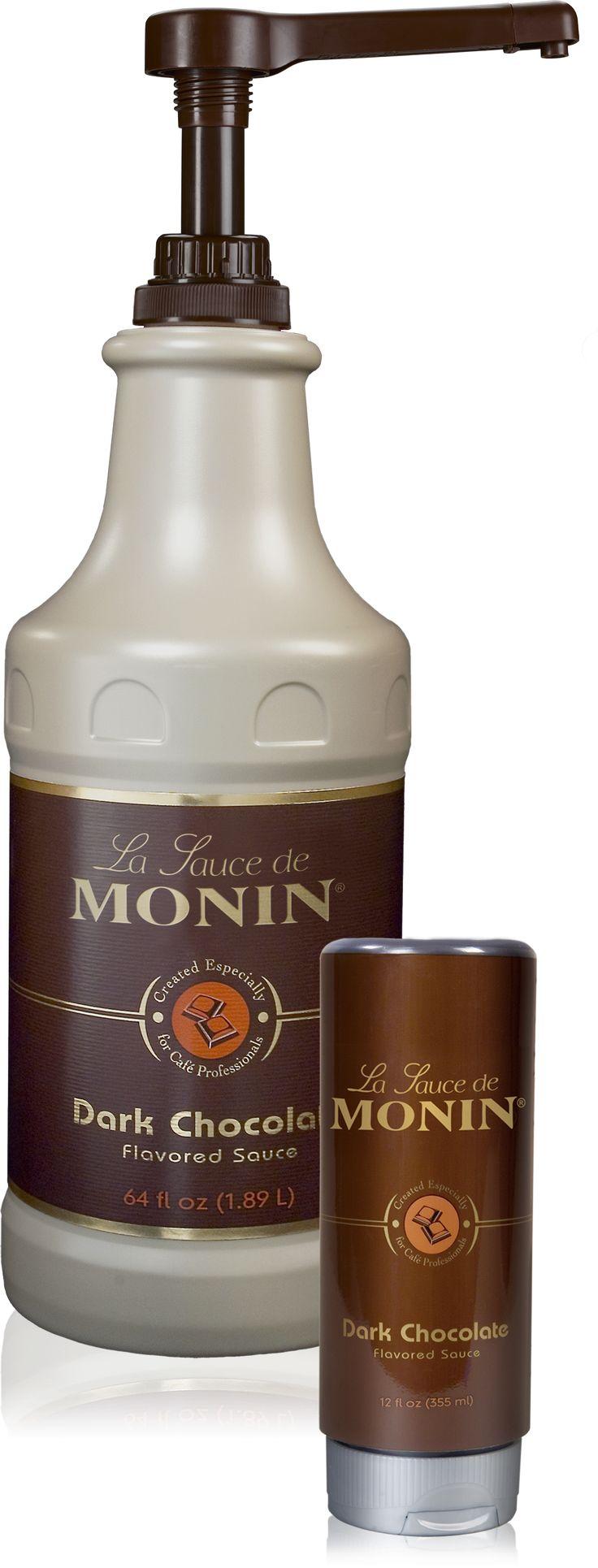 Dark Chocolate Sauce  -  Gourmet Sauces  -  Products  - Monin
