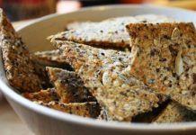 Похрустите домашними хрустящими хлебцами перед телевизором! Легкий перекус в дороге или на работе