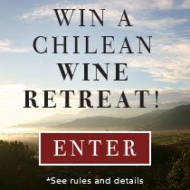 Win an adventure to 2 cities, 5+ Wines Of Chile tastings, suite stay at the exclusive Viña VIK retreat! PLUS enjoy a curated experience: vineyard tours, horseback riding and more, courtesy of our partners @indagaretravel. Airfare for 2 thanks to @LAN Airlines. Enter now: tastingtable.com/chile
