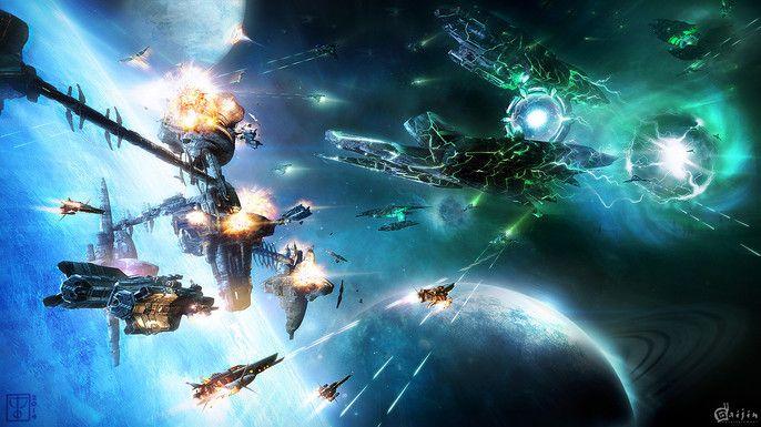 Artwork réalisé pour le jeu Star Conflict de Gaijin Entertainment