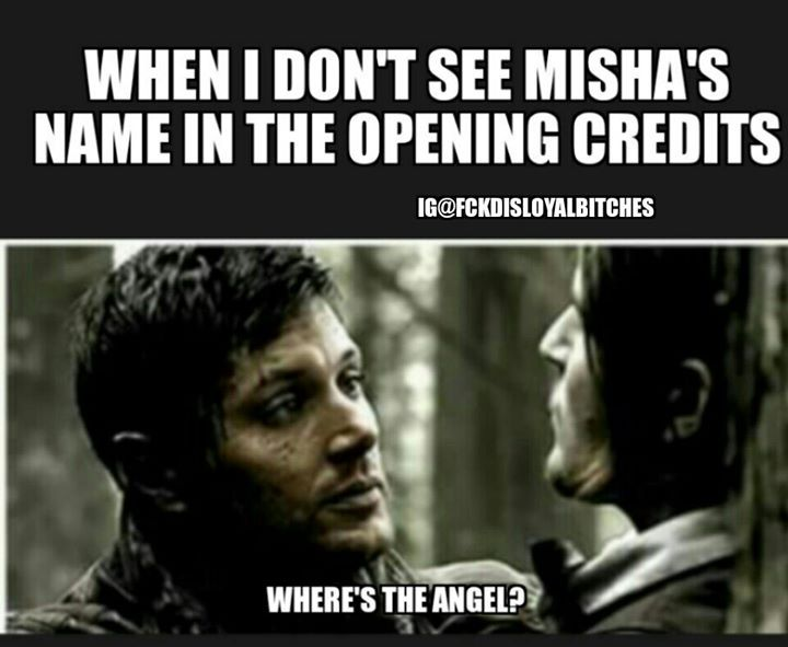 ''Where's the angel?'' OMG EXACTLY!!!! / Supernatural