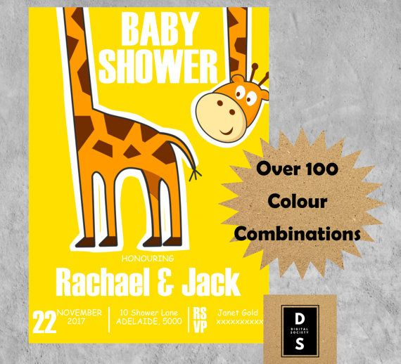 baby shower invitation printable games package by digitalsociety