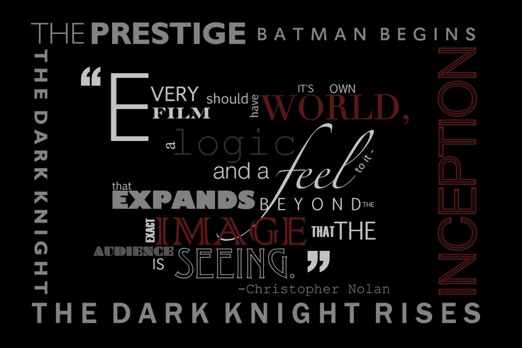 The Dark Knight Quotes: 34 Best Images About Cinephile: Movie Quotes On Pinterest