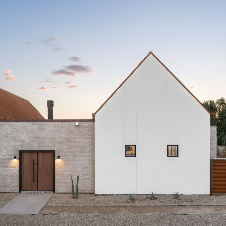 Phoenix architecture studio The Ranch Mine based this canal-side home on the missions built in the American West over 200 years ago.