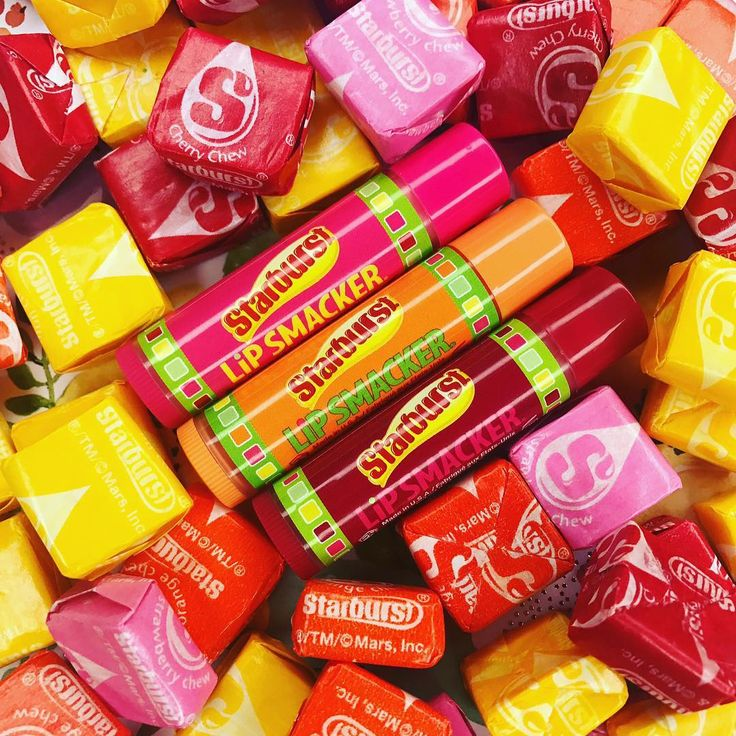 """1,437 Likes, 22 Comments - Official Lip Smacker (@lipsmackerbrand) on Instagram: """"Happy Saturday! What is your favorite Starburst flavor? 💗🍬 #LipSmacker #Starburst…"""""""
