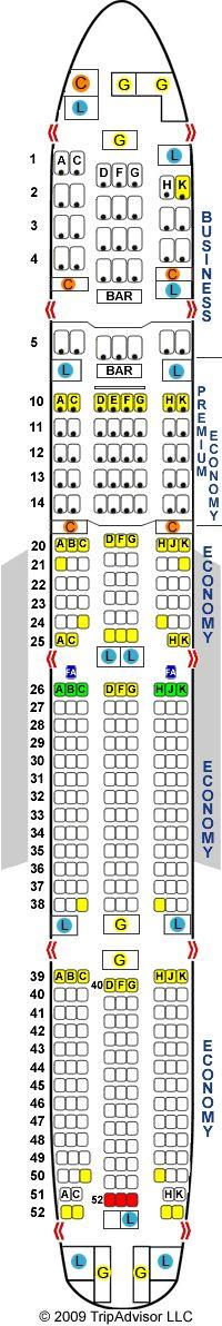 SeatGuru Seat Map Virgin Australia Boeing 777-300ER (773)