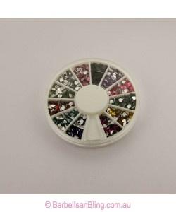 $5.00 Rhinestone Wheel - Hearts