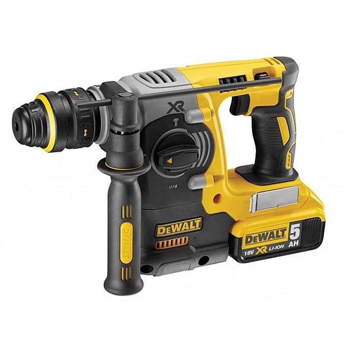 Dewalt DCH274P2 XR Brushless Rotary SDS Drill 18V & Quick Change Chuck