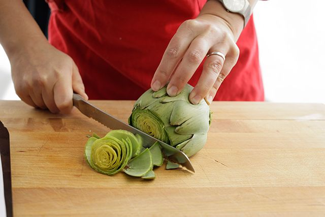 A simple recipe for steaming artichokes, along with recipes for mayonnaise, aioli, and dipping sauces.