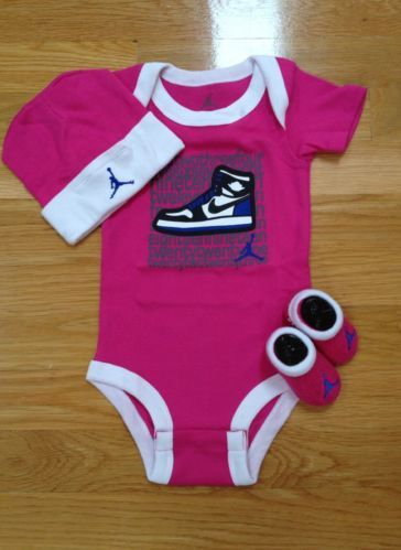 Baby Girl Jordan Clothes Captivating 29 Best Baby Outfits Images On Pinterest  Baby Coming Home Outfit Decorating Design