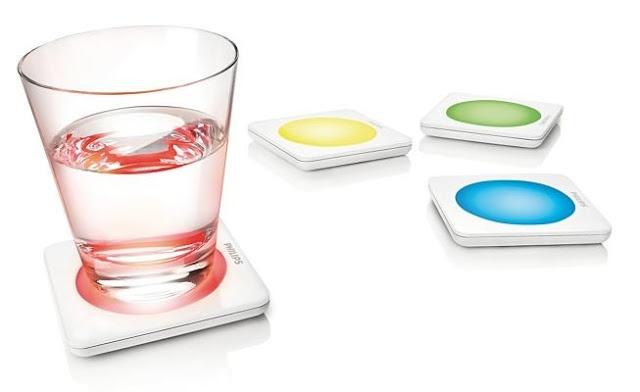 Coasters Lumiware Cambio de color - Well Done Stuff!