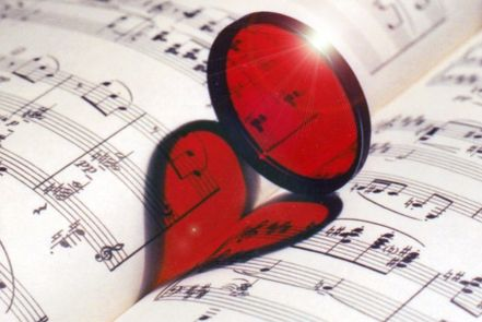 Music=Love ,   Music-(passion+sacrifice+talent)=  0 