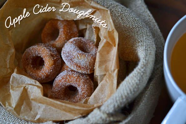 Gluten Free Apple Cider Doughnuts (need to adjust ingredients to be Paleo)