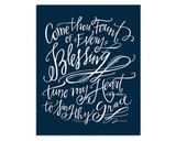 Come Thou Fount Canvas // 16 x 20 - Dear anyone who knows me, please get me this for my birthday pleaseandthankyou
