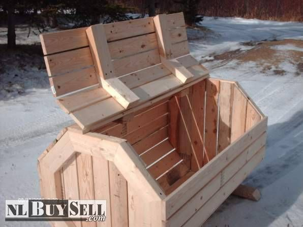 Wood Garbage Box For Sale Wood Garbage In Bell Island