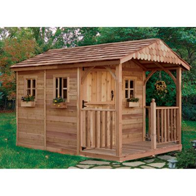 this one for my she shed outdoor living today santa rosa 12 ft x 8 ft cedar garden shed at the home depot mobile