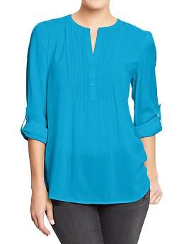 Old Navy Womens Pintuck Tunics - Size Large. I like any of the colors available.