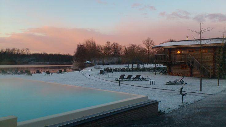 Winters genieten bij de Veluwse Bron