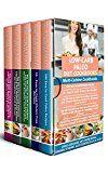 Free Kindle Book -   Low-Carb Paleo Diet Cookbooks: Multi-Cuisine Cookbooks- 5 Books in 1- 100 Easy to Cook Paleo Recipes, 55 Gluten-Free Recipes, 365 Low-Carb Chinese-American Recipes, Mediterranean Recipes & Vegan Diet
