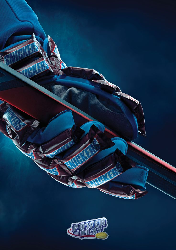 Snickers: Ice-hockey glove