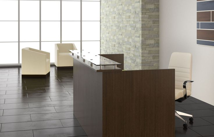 Aura Reception / Indiana Furniture - Reception Desk Inspriation