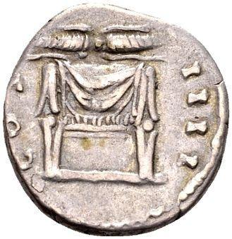 Roman Empire – Silver Denarius of emperor Antoninus Pius (138-161 AD), minted in Rome