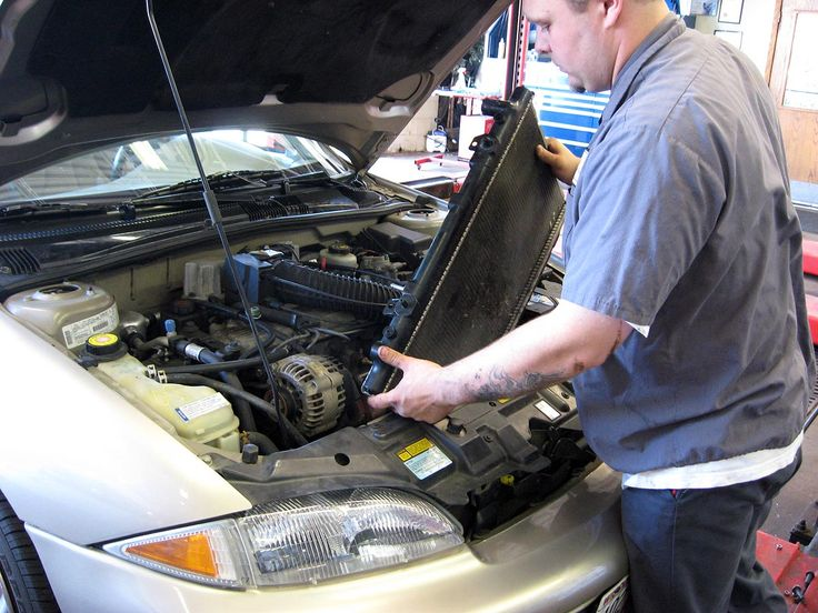 I know my car has had quite a few issues since I've bought it. The radiator in particular keeps needing some patch work. The last time I went to the mechanic he said I might need to have the whole unit replaced. It will be a little expensive, but much cheaper than small and frequent repairs.