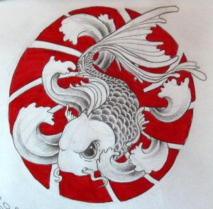 japanese koi art that I like.