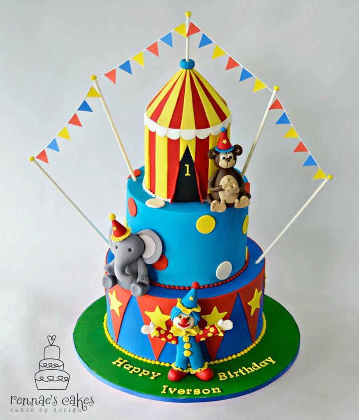 Die 17 besten Bilder zu Boys Birthday Cakes auf Pinterest & Circus themed birthday cakes