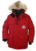 Discount Canada Goose Expedition Parka Sale 4565M Mens Red cheap Down Jackets