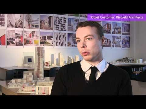 3D Printer a Game Changer for Architecture Design | Rietveld & Objet - YouTube
