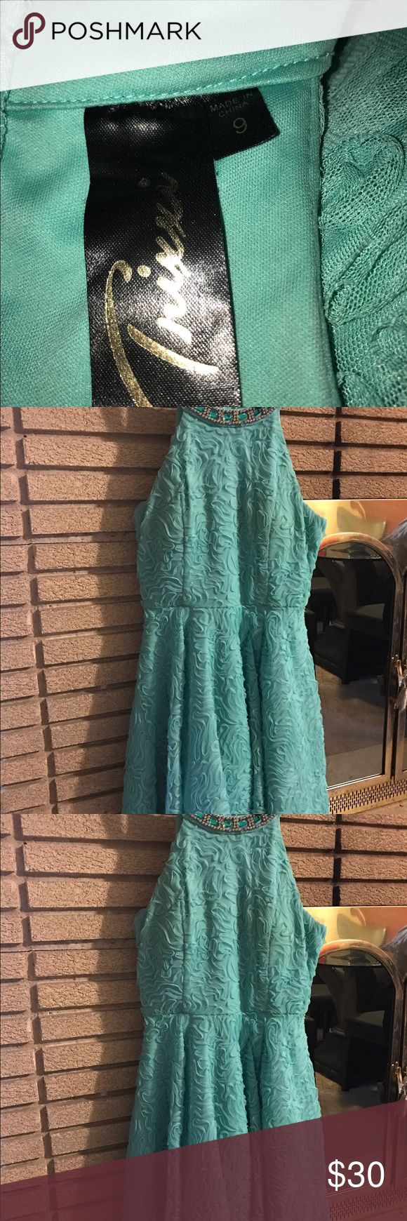 Dress Pastel green dress, worn once great for a wedding,party, or night out Dresses Midi