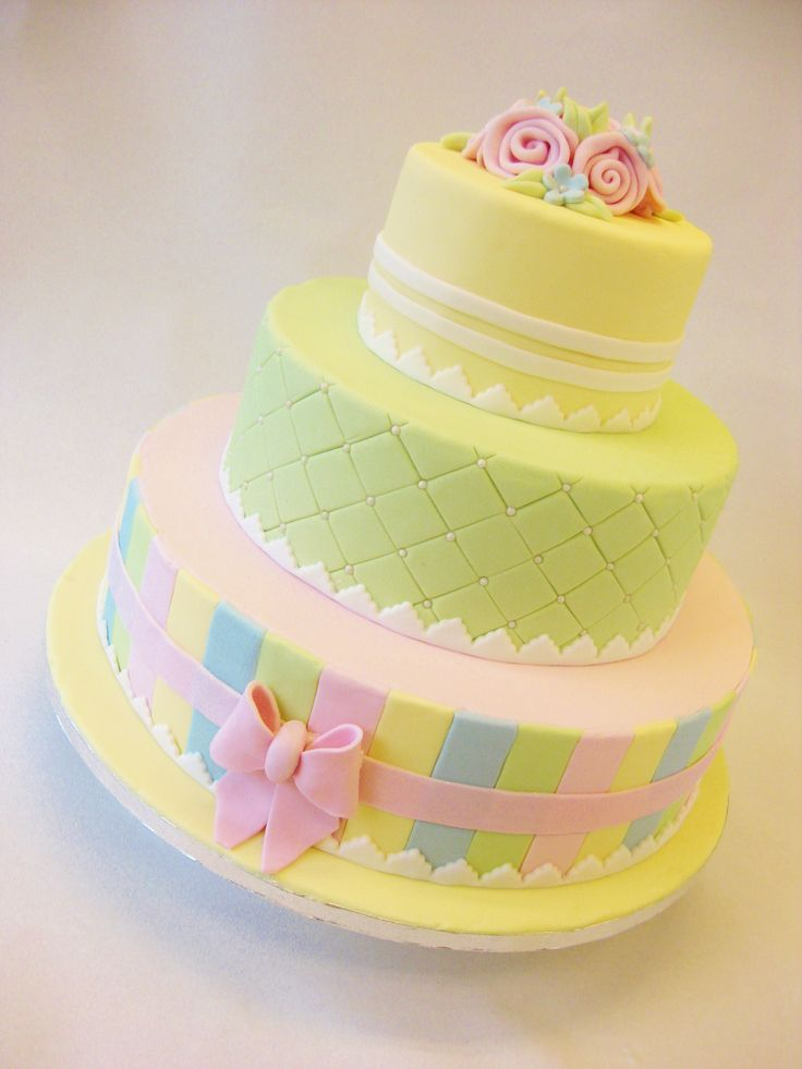 Pastel Wedding Cakes Pinterest