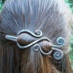 Copper hair Clip