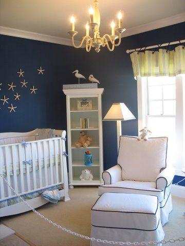 Love: Nautical Nursery, Nurseries, Wall Color, Nursery Ideas, Baby Room, Baby Boy, Boy Room, Kid