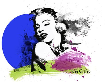 """Check out new work on my @Behance portfolio: """"Unforgettable Marilyn"""" http://be.net/gallery/48430355/Unforgettable-Marilyn"""