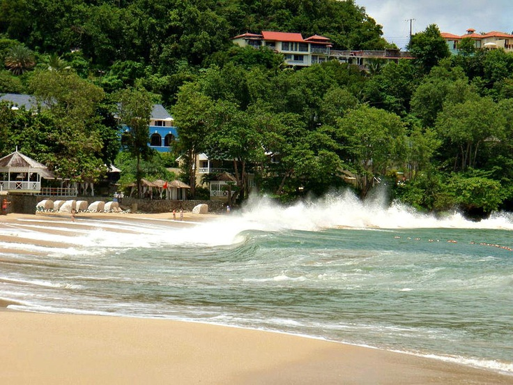 Ocean Spray - St. Lucia | Enjoy The Natural Beauty Of The Caribbean | View Deals!