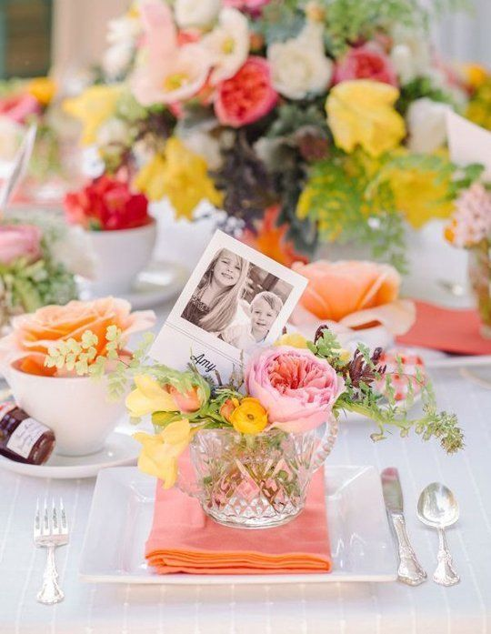 Personalize name settings using family photos