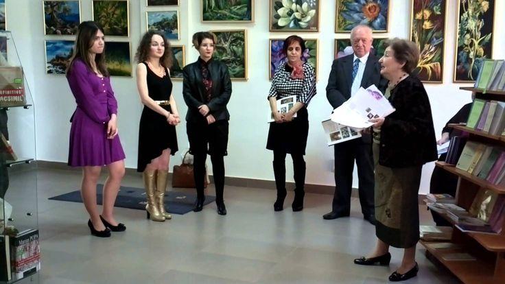 Vernisaj expozitie Casa Muzelor si a rozelor Pictura et poesis Centrul Cultural European sector 6 Biblioteca Culturala, Galeria T, Drumul taberei nr 4