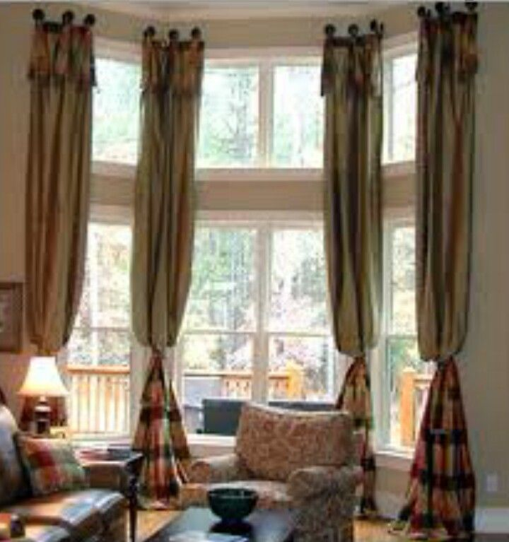Curtains for 3 window living room 26