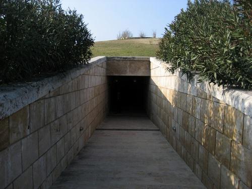 Tomb of Philip II, father of ALEXANDER THE GREAT , Vergina- Macedonia -Greece