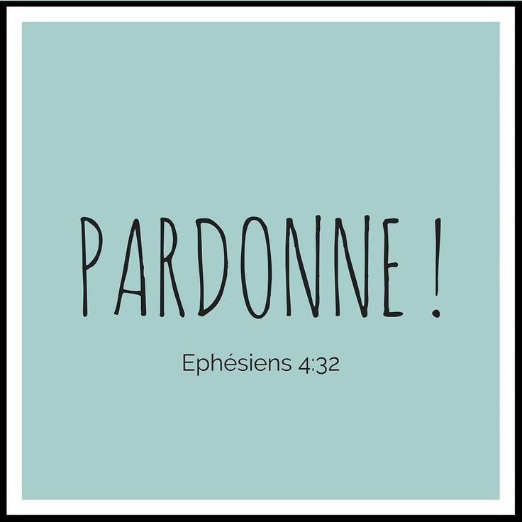La Bible - Verset illustré - Ephésiens 4:32 - Pardonne - Soyez bon et pleins de compassion les uns envers les autres; pardonnez-vous réciproquement comme Dieu nous a pardonné en Christ.