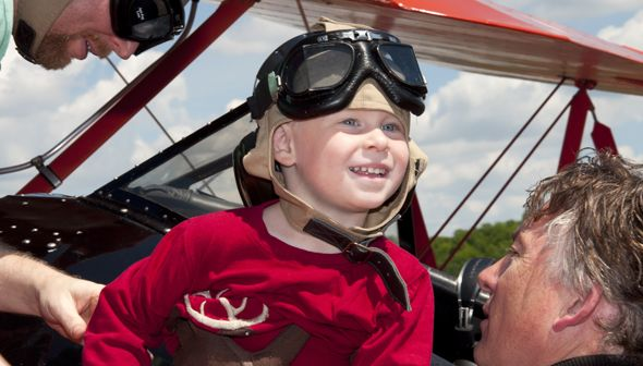 Biplane Rides. Feeling adventurous? Wondering what it's like to fly in a vintage aircraft? Biplane rides at the Museum are a once-in-a-lifetime experience. Gift certificates available.