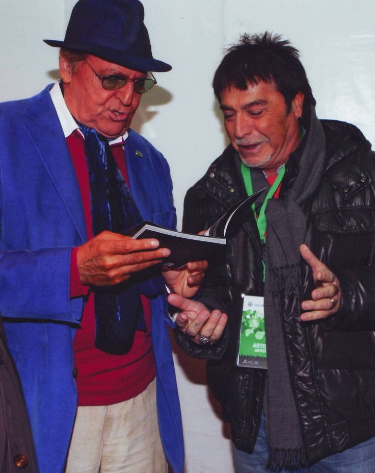 Renzo Arbore & Paky Mele...look at my book