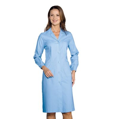 blouse mdicale manches longues femme bleu - Blouses Medicales Colores