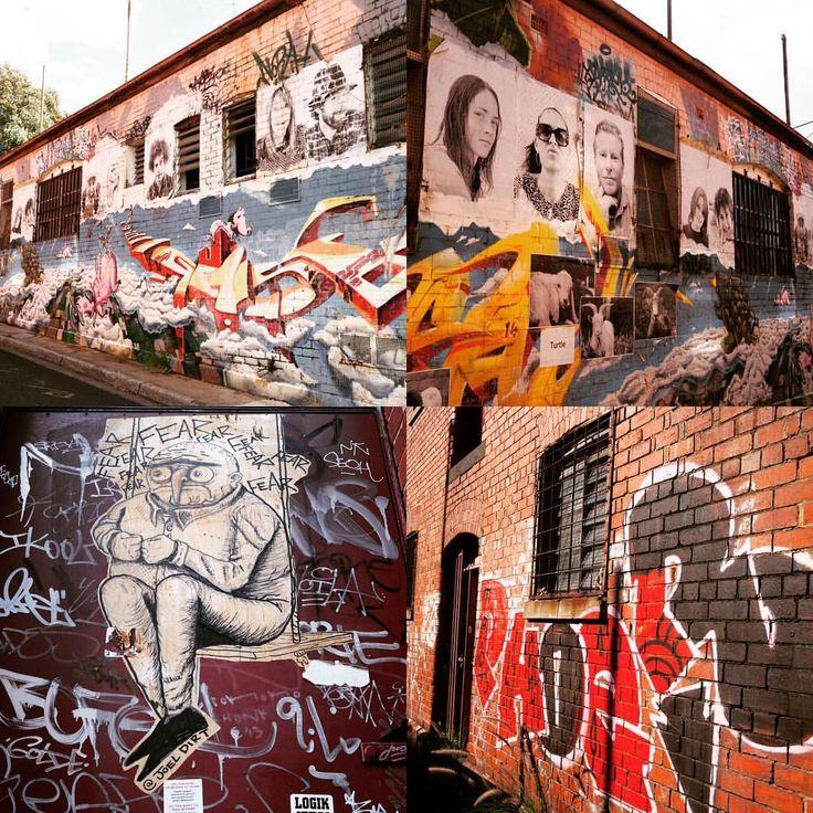 Street art on the corner.