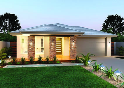 Hayward 22 // Single storey home complete with four generous sized bedrooms, an ensuite to the master bedroom and four separate living zones