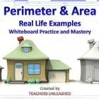 $4.00  Getting this concept out of the way early this year!  PowerPoint lesson on area and perimeter with attention to using both in word problems.  By Teachers Unleashed