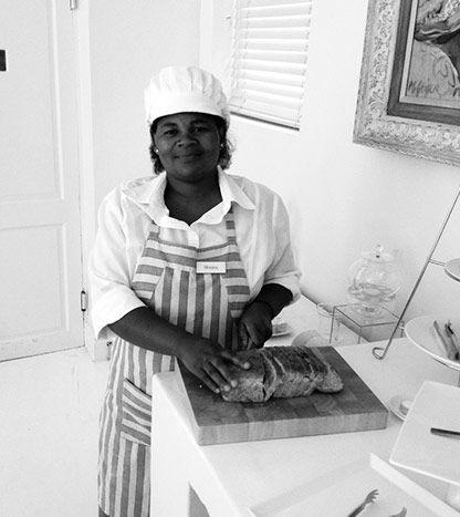Monica's magic hands at Cape Cadogan #CapeCadogan #MOREexperiences