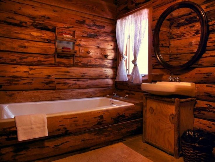 Best 25  Log cabin bathrooms ideas on Pinterest Stone shower Cabin and home